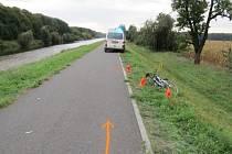 Policie hledá svědky nehody, na cyklostezce se zranila žena