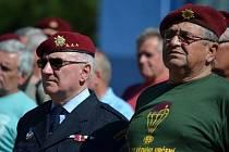 55. výročí si v pátek 26.8. připomněli členové Pluku zvláštního nasazení v Holešově.