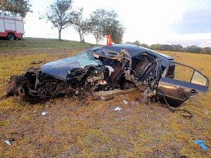 Dopravní nehoda u Troubek