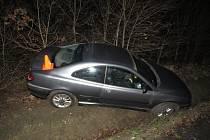 Pod vlivem alkoholu boural v úterý 16. 2. v noci řidič osobního auta v Olšině nedaleko Zdounek.