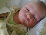 David Machala, narozený 2.12.2013, 10:44 hodin, váha 4, 480 kg, velikost 53 cm
