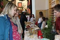 Adventní a vánoční prodejní výstava v Pravčicích 2019.