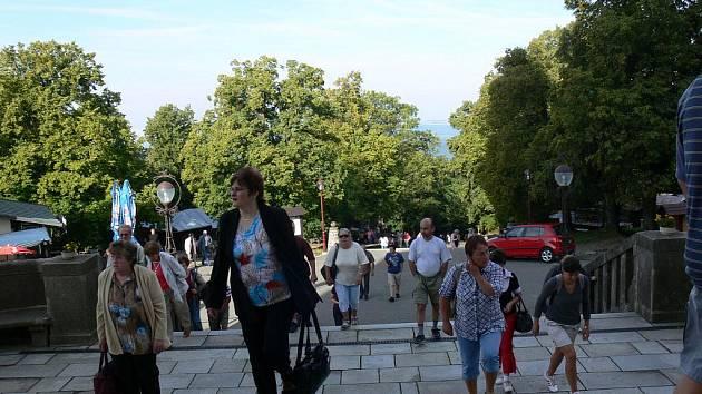 Na Svatém Hostýnku se v neděli 11. září 2011 konala mše.