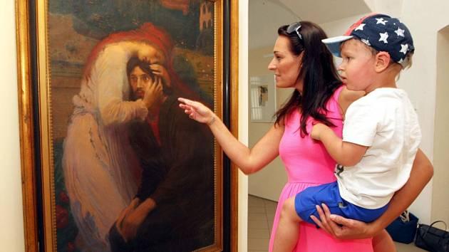 Výstava Švabinský tak trochu jinak v muzeu v Kroměříži. - Ilustrační foto