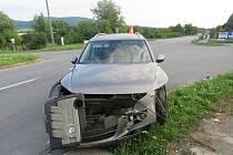 Nedání přednosti bylo příčinou nehody, kterou v sobotu 13.8. řešili policisté v Hlinsku pod Hostýnem. Škoda se vyšplhala na půl milionu korun.
