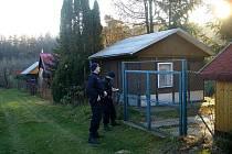 Strážníci kontrolovali chatové oblasti