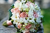 Svatební kytice. Ilustrační foto.