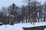 Bílý sníh zasypal jedno z nejnavštěvovanějších poutních míst České republiky.