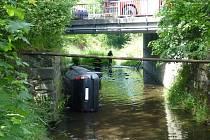 Snímek z místa nehody ve Frenštátě pod Radhoštěm.