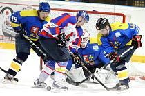 Hokejisté Nového Jičína v domácím derby utkání podlehli Studénce 2:5.