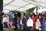 Hornický den, který se uskutečnil v sobotu 7. září v Odrách byl věnován zejména břidlici.