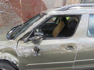 Předběžnou škodu na vozidle policisté vyčíslili na 150 tisíc korun.