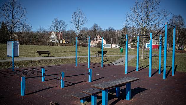 Workoutové hřiště vyroste ve Vlčovicích.