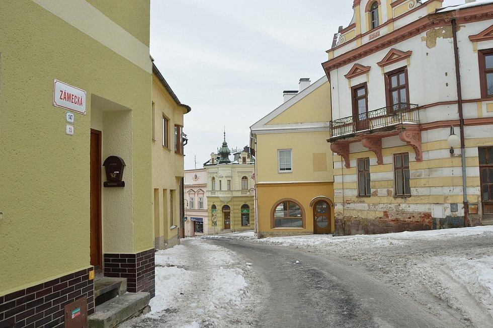 Zámecká ulice.