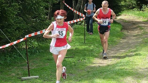 Blanka Paulů, startující za Maratonstav Úpice, se stala absolutní vítězkou 20. ročníku Běhu na Velký Javorník 2008.