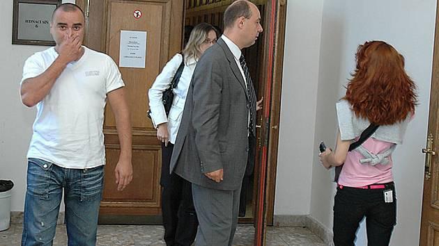 RADIM SKALICKÝ (vlevo), jeden z aktérů projednávané kauzy.