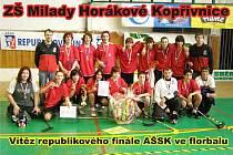 Žáci ZŠ Milady Horákové dosáhli na zlaté medaile.