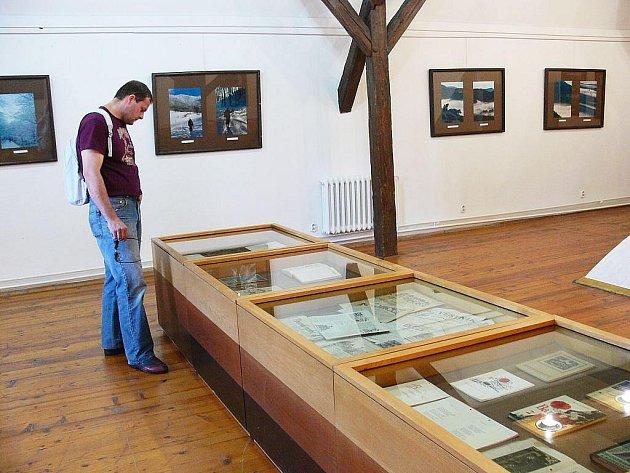 Návštěvníci si mohou v Muzeu Fojtství prohlédnout nejen fotografie, ale také historické mapy.