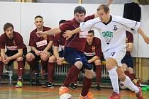 Snímky z utkání Top Dogs Nový Jičín - FC VSK VŠB TU Ostrava 3:6 (2:2).