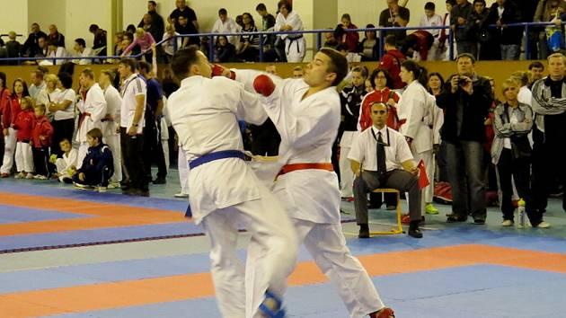 Téměř na 300 závodníků se sjelo do Oder na tradiční Silesia cup, pořádaný oderským klubem karate, aby předvedlo své umění.