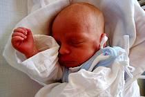 Petr Riedel, nar. 17.8.2009, 41 cm, 2,41 kg, nemocnice Nový Jičín.