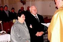 Manželé Jaromíra a Alfons Novákovi.
