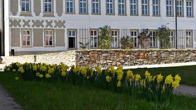 Piaristická zahrada v Příboře.