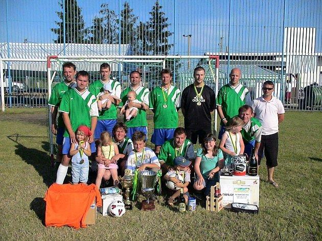 VÍTĚZ 8. ročníku mezinárodního turnaje Big Holiday Cup 2008, FC Mladí Chlapci.