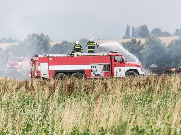 Dva požáry současně zaměstnaly v pátek odpoledne hasiče na Novojičínsku. (Bravantice)