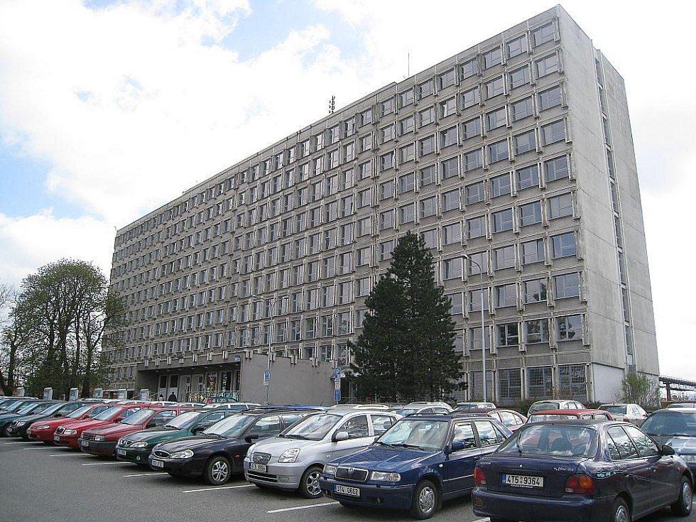 Městský úřad v Kopřivnici.