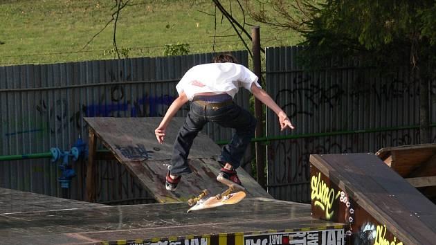 Novojičínský skatepark v sobotu přivítal závodníky.