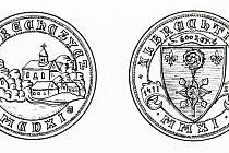 Tak bude vypadat pamětní mince Albrechtiček. Návrh zpracoval Petr Soušek.