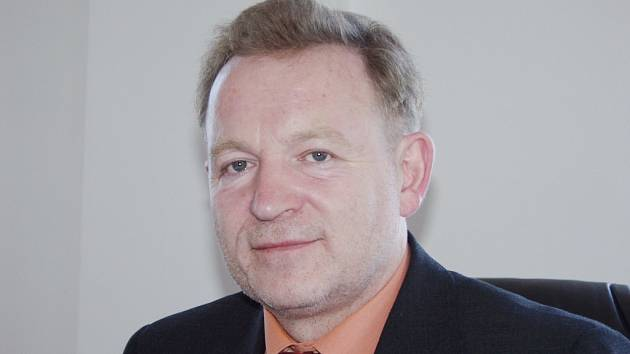 Starosta Kopřivnice Josef Jalůvka.