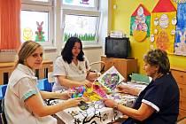 Pestrý program připravili na období Velikonoc pro pacienty dětského oddělení v Nemocnici Nový Jičín.