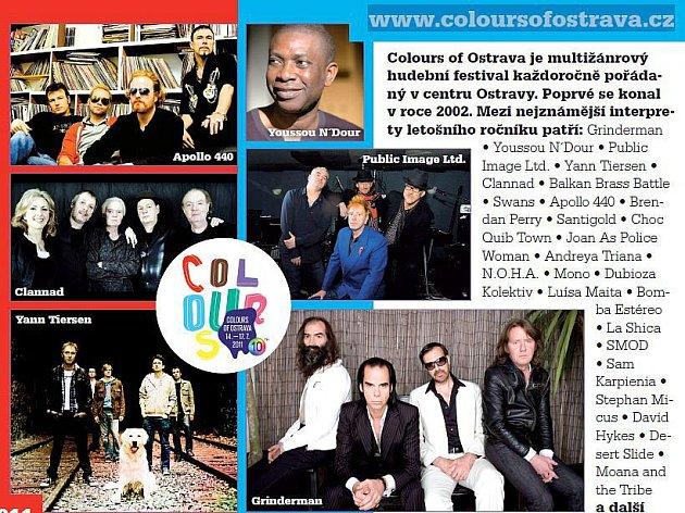 Colors of Ostrava. Ilustrační foto.