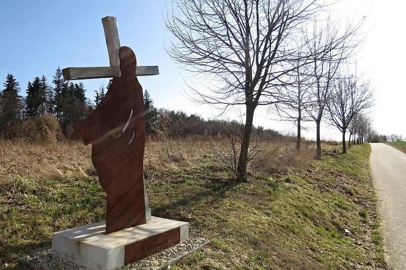 Křížová cesta v Bílovci.