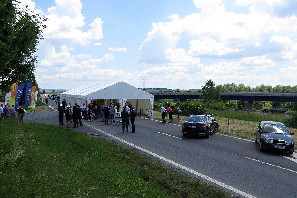 Stavba I. etapy přeměny silnice I/48 na dálnici D48 v úseku Bělotín - Rybí začala slavnostně 10. června 2021 v Bělotíně.