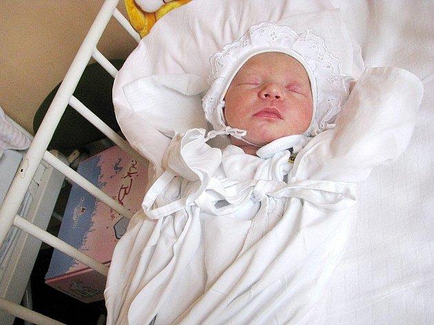 Tereza Nováková, Veřovice, nar. 12. 9. 2009, 47 cm, 2,56 kg, nemocnice Nový Jičín.