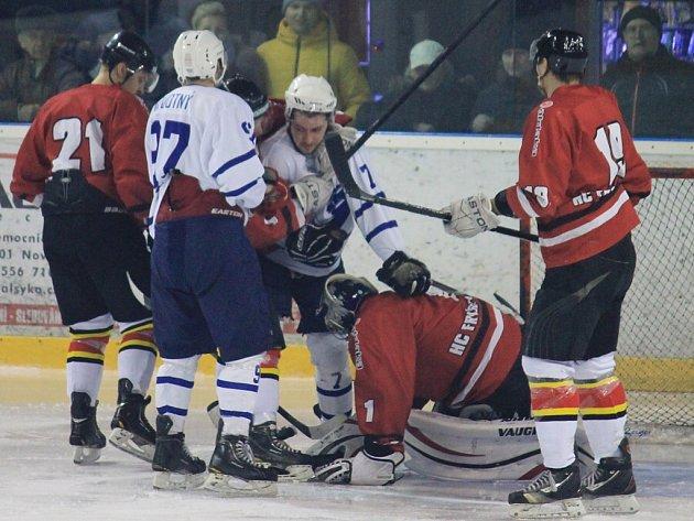 II. hokejová liga, sk. Východ, 41. kolo  HK Nový Jičín – HC Frýdek-Místek 7:3