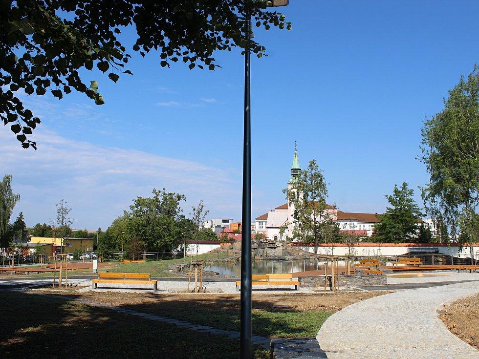 Relaxační park se pro veřejnost otevře letos na podzim.