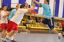 Házenkáři Kopřivnice na domácím turnaji již tradičně nastupují v retro dresech.