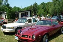 Fulnecký kemp byl kdysi místem, kam se jezdilo nejen za rekreací, ale na různé akce. Například na setkání amerických vozidel.