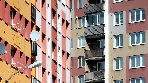 Byty na sídlišti Loučka patří na území Nového Jičína mezi nejlevnější.