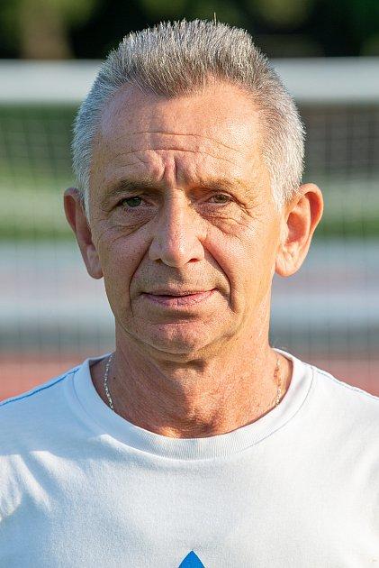 Fotbalový klub FC Kopřivnice, 24.září 2020.Jiří Polomský - vedoucí týmu