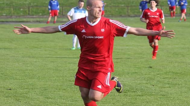 Kanonýr Radovan Lokša nasázel v Novém Jičíně za tři sezony 79 branek.