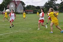 Utkání žen bylo největším lákadlem programu fotbalových oslav v Hladkých Životicích.
