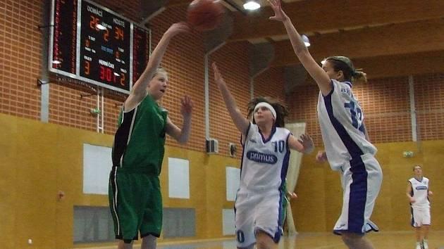 Mladší dorostenky BK Příbor vyhrály bez porážky domácí turnaj.