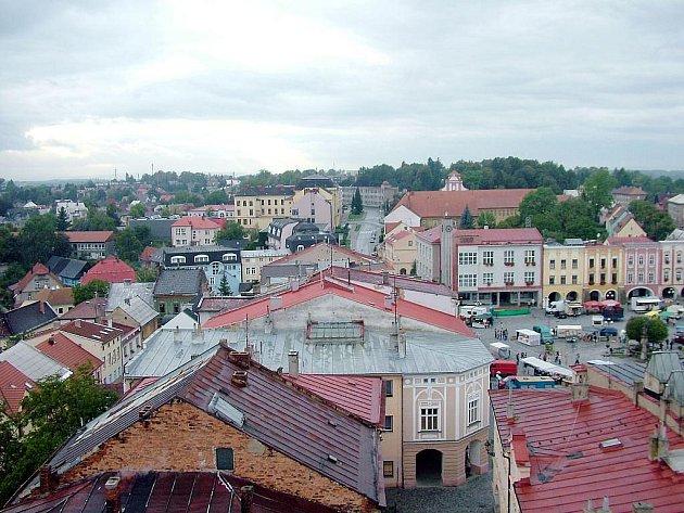 Město Příbor. Ilustrační snímek.