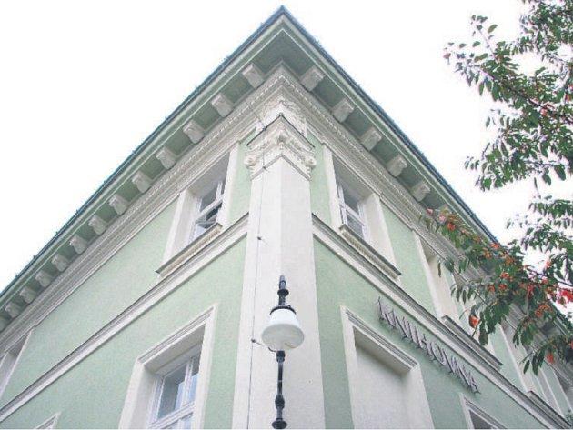 Ve vile sídlí od roku 2001 městská knihovna. Nyní došlo na opravu fasády.