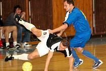 Futsalový tým Dreadlock Nový Jičín odehrál základní část 1. třídy bez porážky.